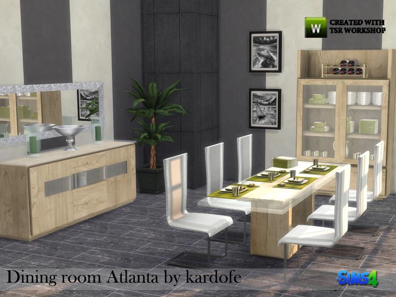 Kardofe dining room atlanta - Dining room furniture atlanta theme ...